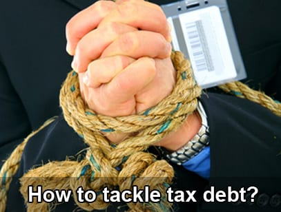 Don't let your small business be under the gun of the IRS – Know how to tackle tax debt
