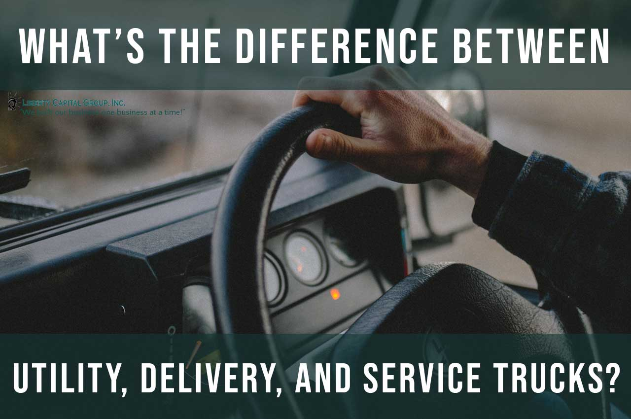 What's the Difference Between Utility Truck, Delivery Truck, and Service Truck?