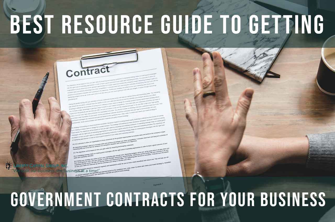 Best Resource Guide to Getting Government Contracts for Your Business