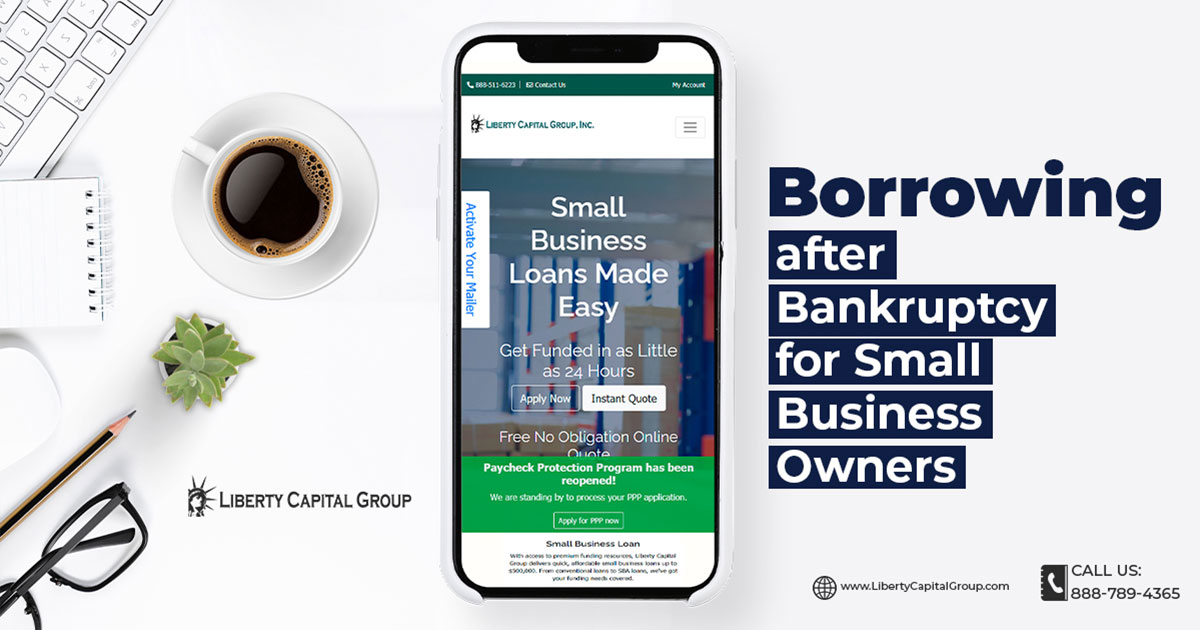 Borrowing After Bankruptcy for Small Business Owners
