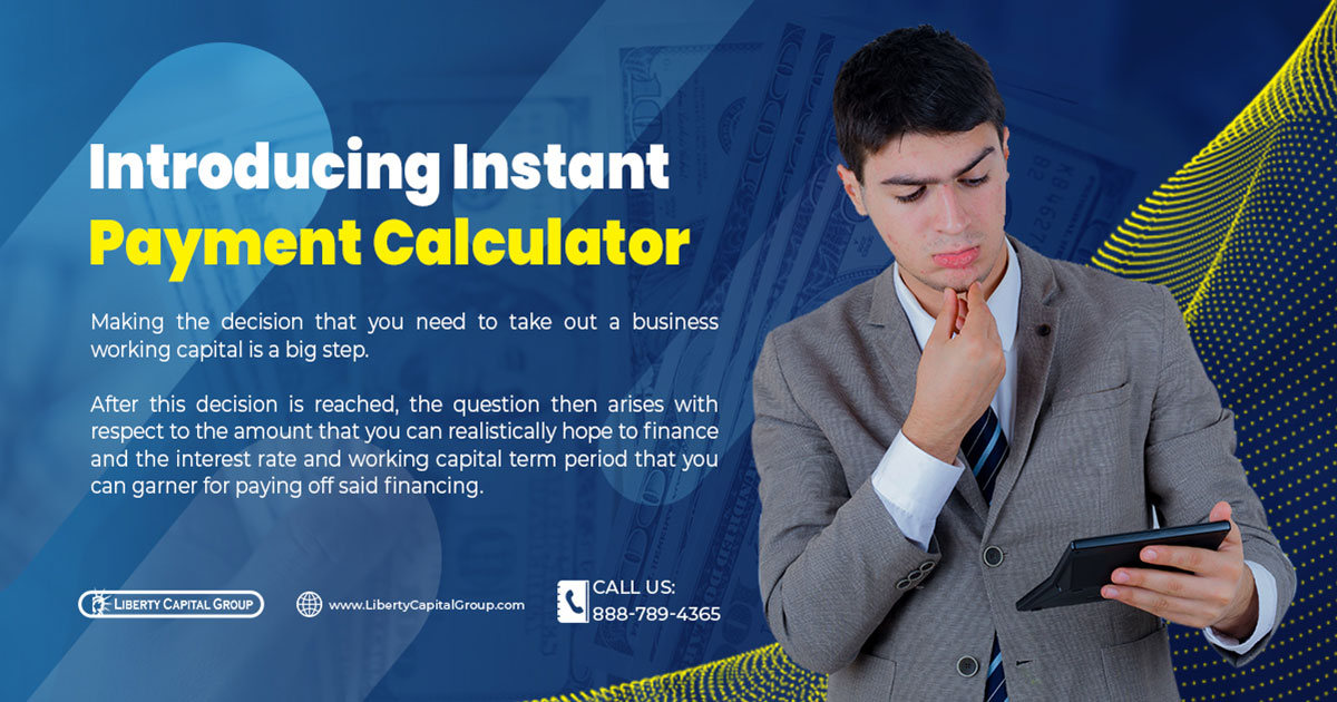 Introducing Instant Payment Calculator